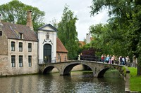 Bridges and canals in Brugge.